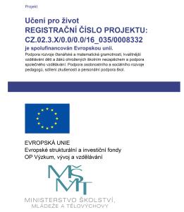 Publicita - leták - SŠ Žlutice